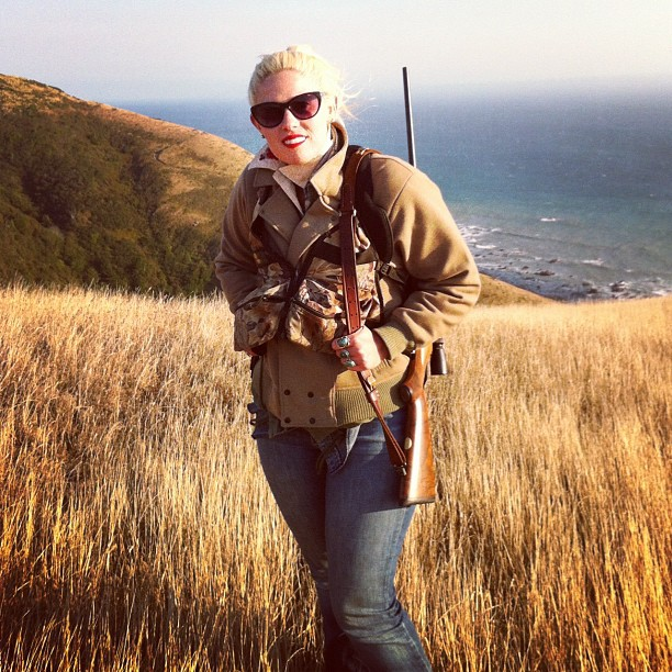 Hunting near the Mattole River on the Humboldt County coast