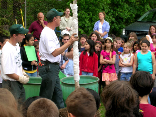 Arbor Day 2007 Radburn School, Fair Lawn, NJ.