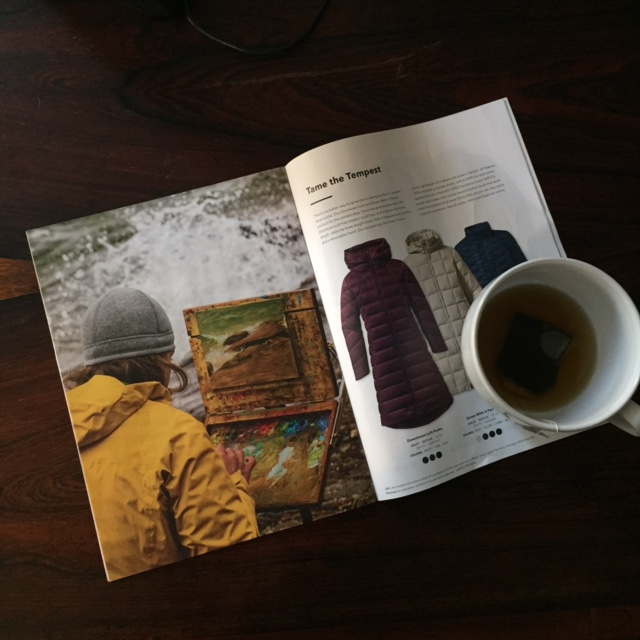 Patagonia catalog - winter solstice December 2014. Photo by Ben Moon