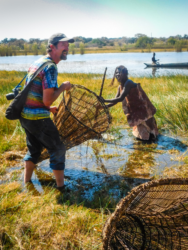 Fishing with the Mbunza                                                                   photo Zara Wiley