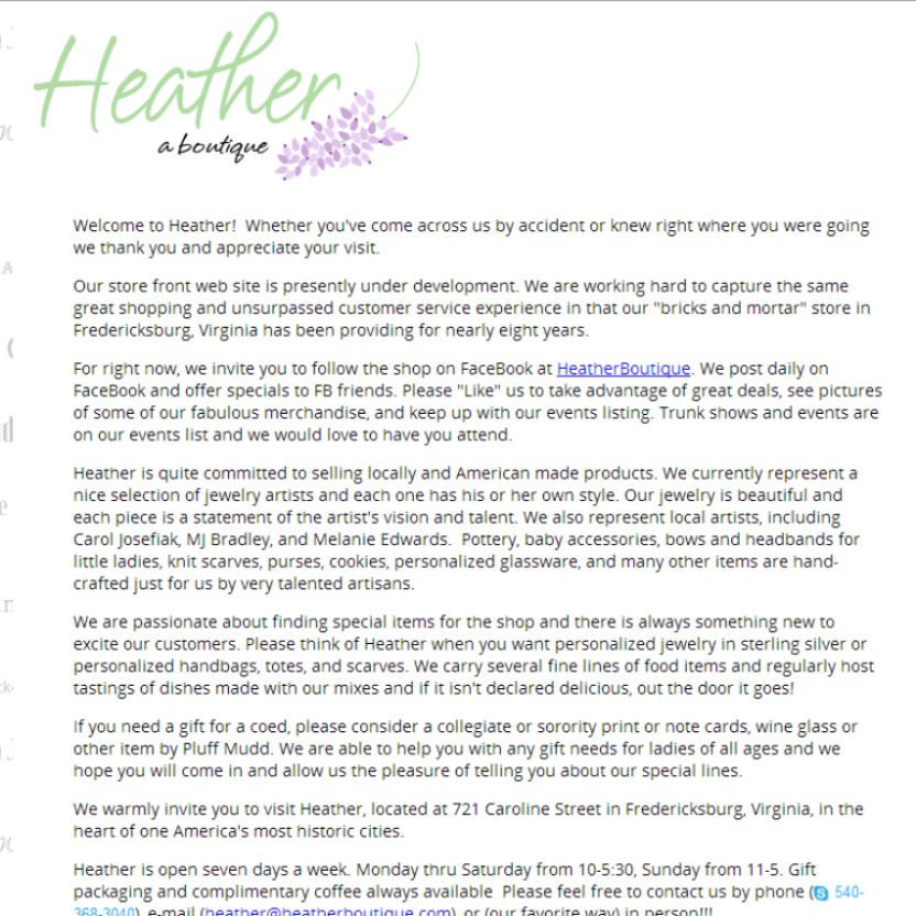 Heather Boutique