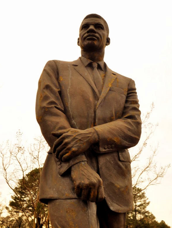 [Medgar Evers statue outside the public library in Jackson. Thanks to photographer Trip Burns of the  Jackson Free Press .]   In developing Cooperation Jackson, we pay homage to our Movement's ancestors ...