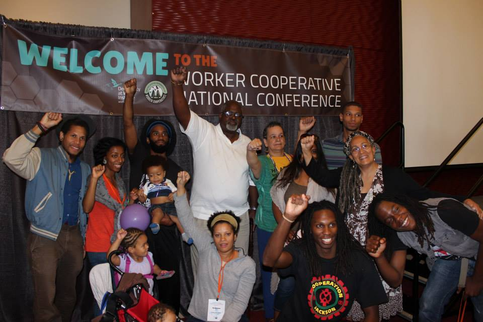 COOPERATION JACKSON DELEGATES AT THE WORKER COOPERATIVE NATIONAL CONFERENCE
