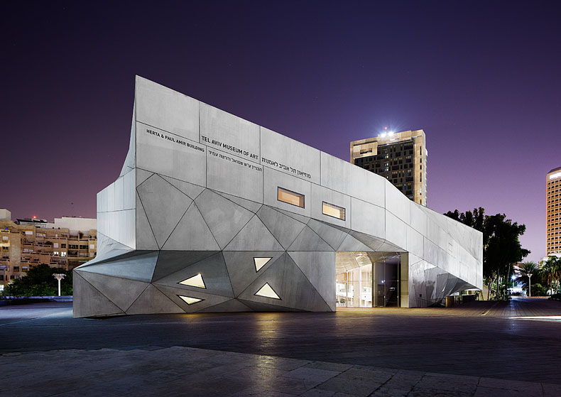 Tel Aviv Museum of Art - Photography by Morten Bentzon