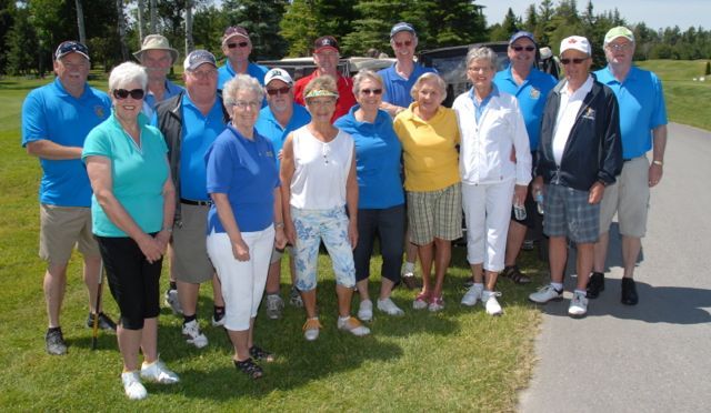 2014 golf volunteers