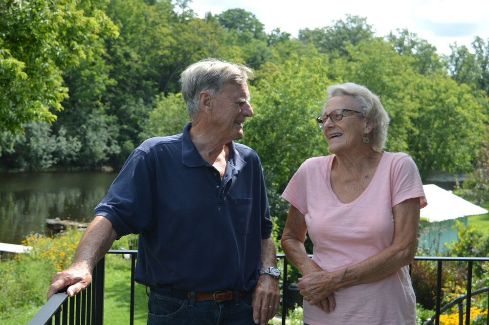 Jim Hugessen and Louise Stevenson are 'in the picture'.