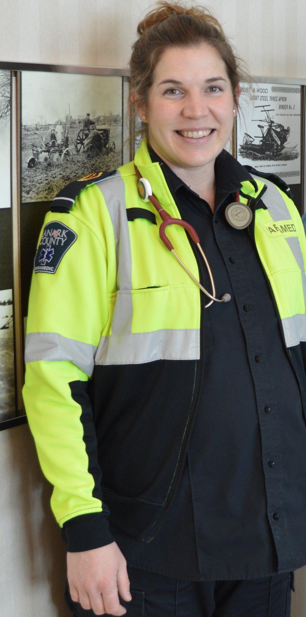 Emily Hine, Paramedic -