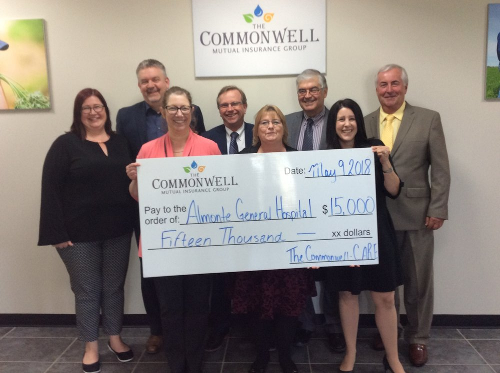 - 2nd generous donation from Commonwell