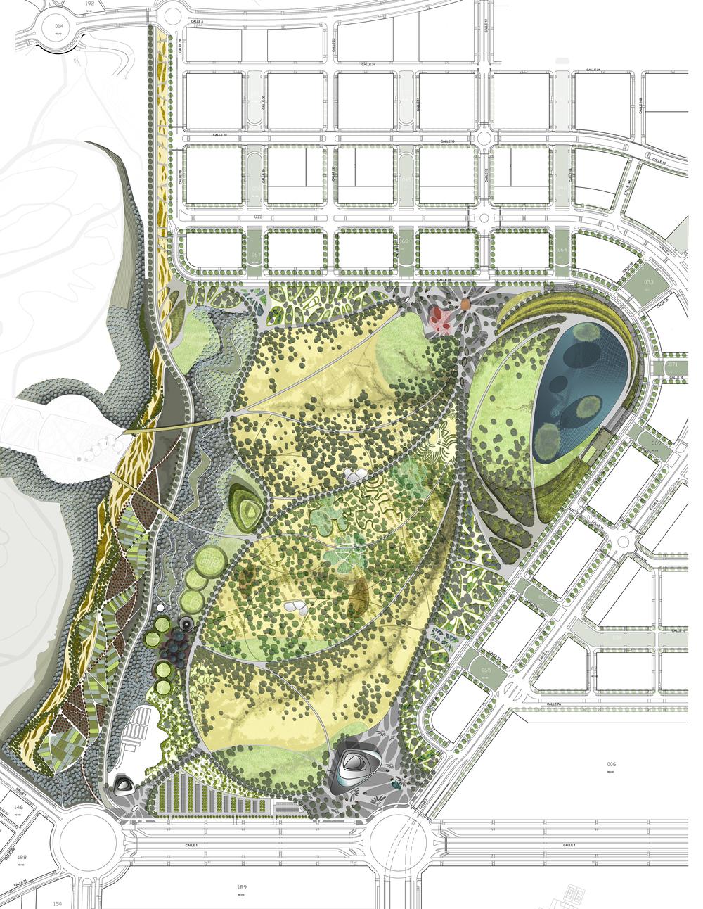 Valdebebas Park Nomad Studio Landscape Architecture