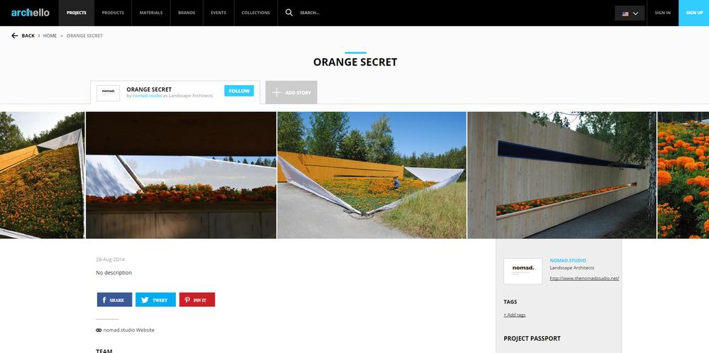 Archello.     Orange Secret