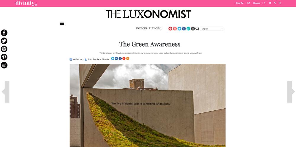 The Luxonomist.  Green Varnish
