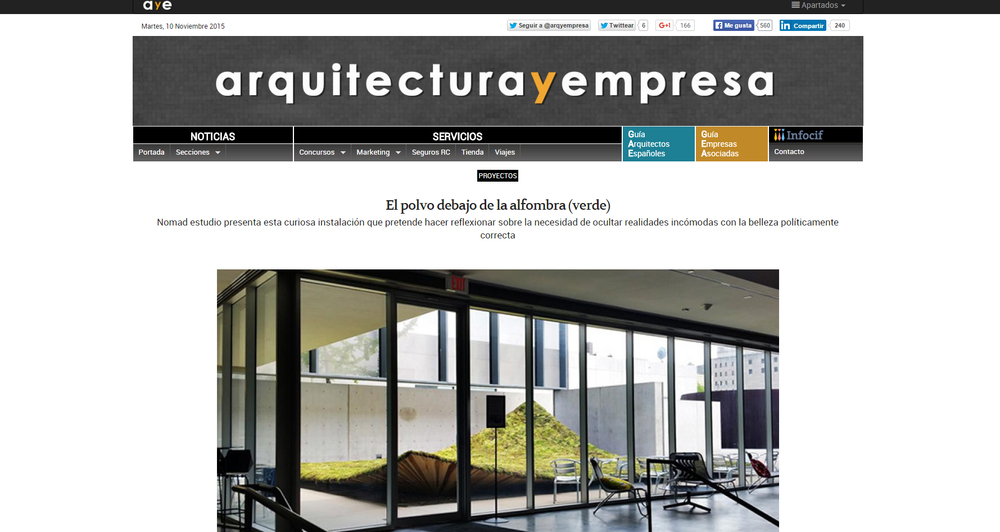 Arquitectura y Empresa.  Green Varnish
