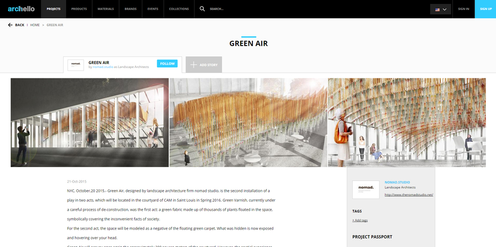 Archello.   Green Air