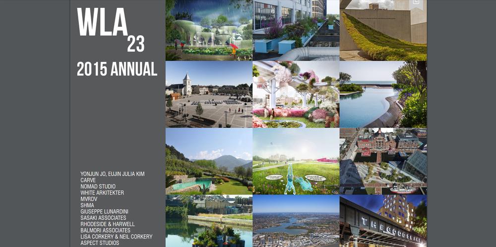 WLA - 2015   Annual.  Green Varnish