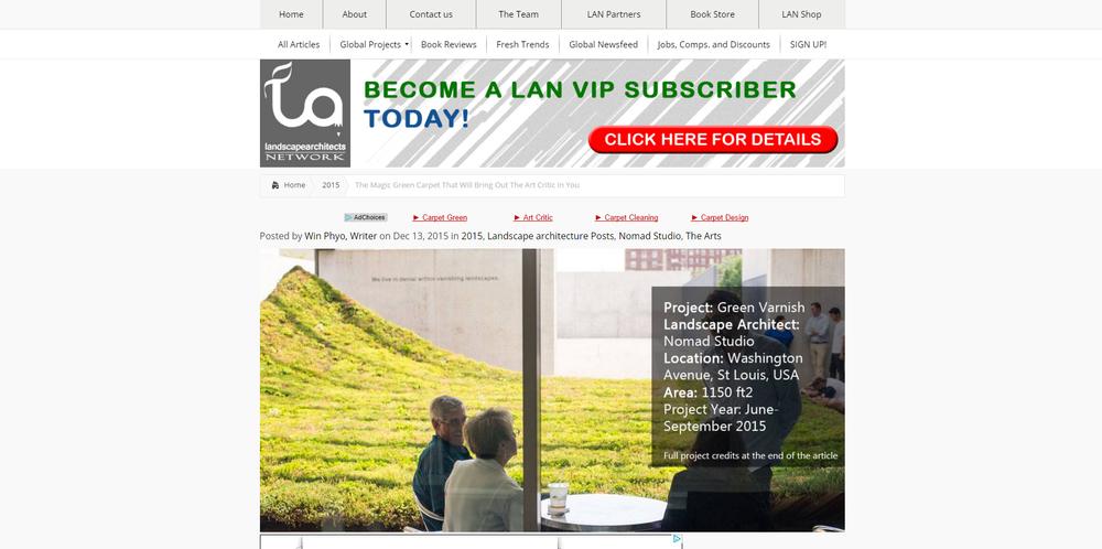 Landscape Architects Network.  Green Varnish