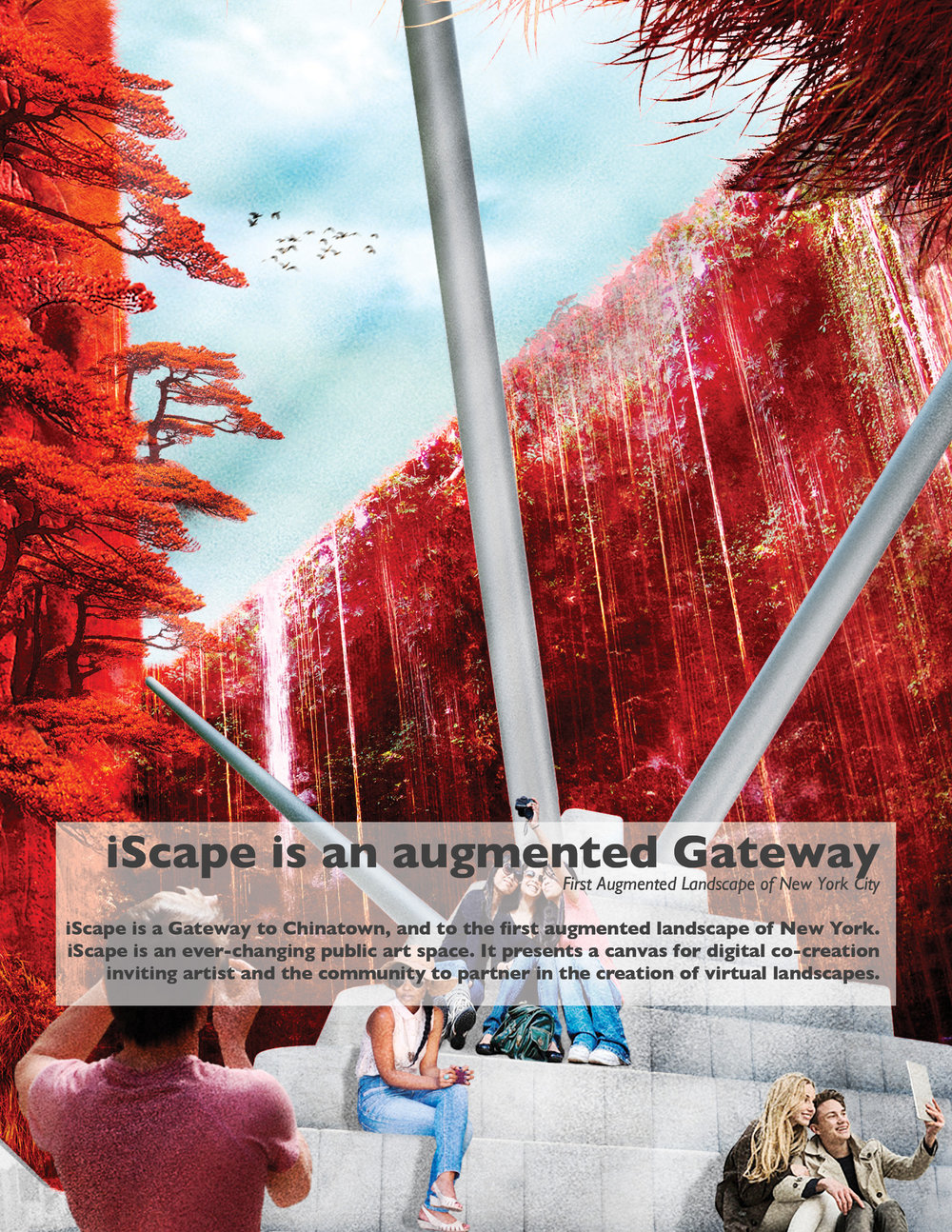 iScape is an augmented Gateway.   Gateways to Chinatown, NY