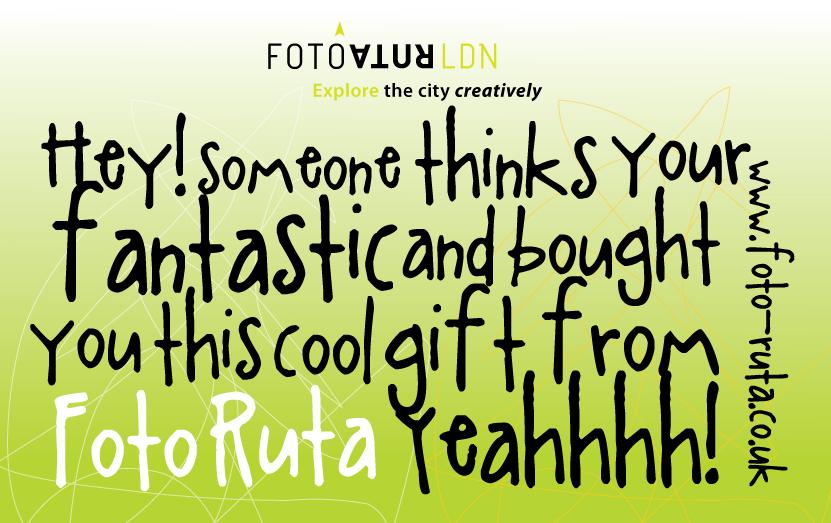 Foto Ruta Gift Voucher