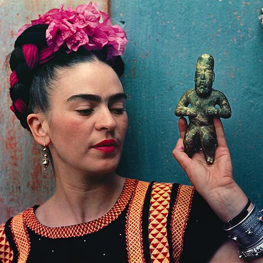 Frida Kahlo Selfie