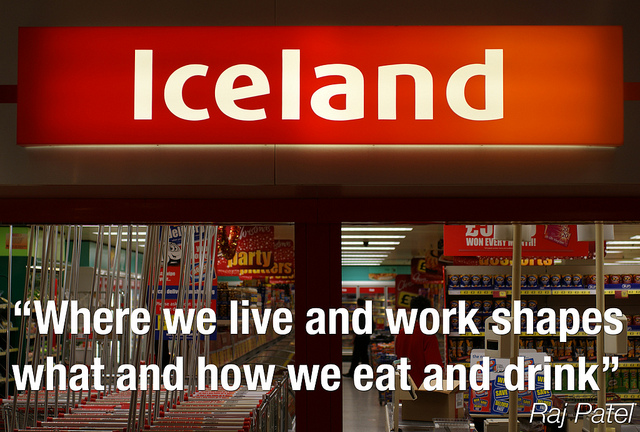 (Iceland supermarket- by Richard Allaway)
