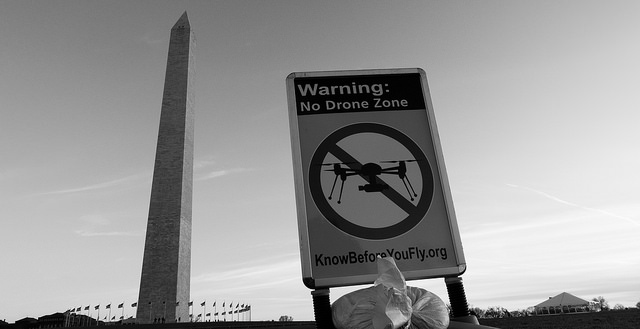 No Drone Zone by John Sonderman