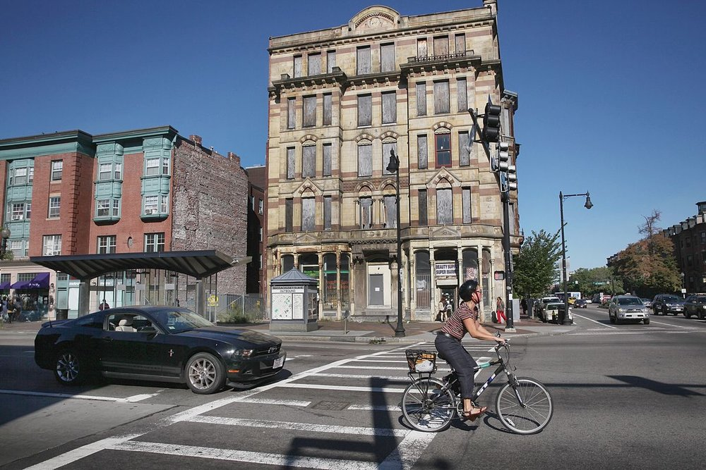NEW INTEREST IN ALEXANDRA HOTEL PERCOLATES THROUGH NEIGHBORHOOD - A Boston development company apparently has expressed an interest in developing the Hotel Alexandra on Washington Street in the South End, preserving its historic nature and developing it without any additional properties attached.
