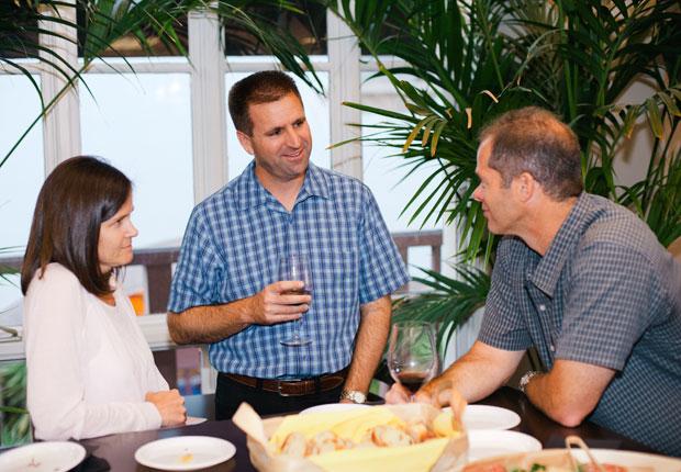 Stacy Yoos, Jeff Yoos and Ken Krutenat