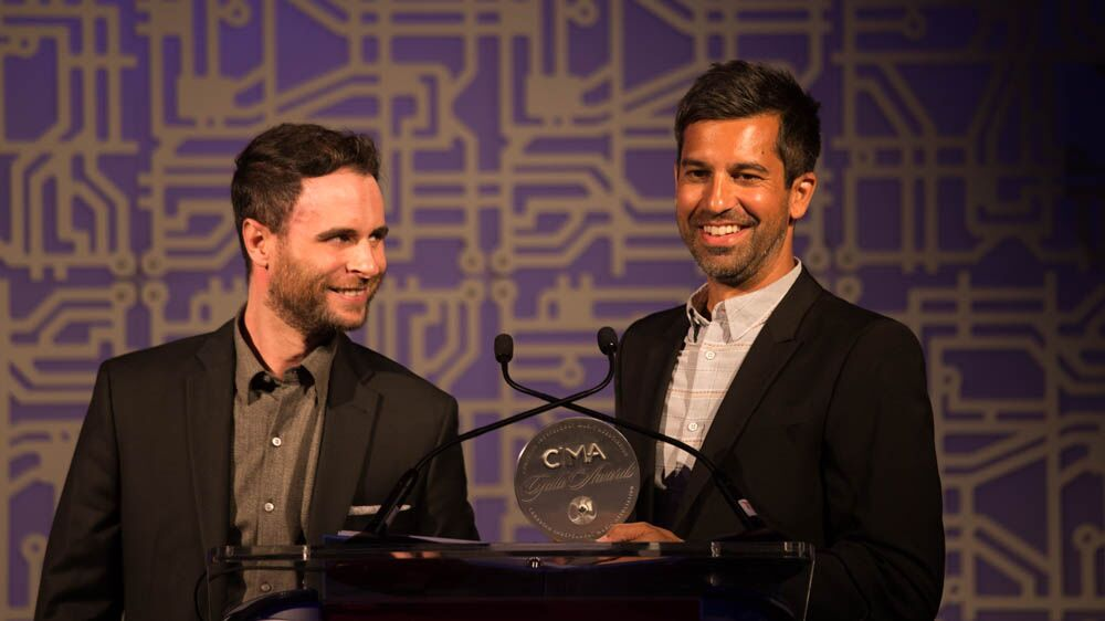 Arts & Crafts' Jonathan Shedletzky & Kieran Roy received the 2017 Marketing Award.