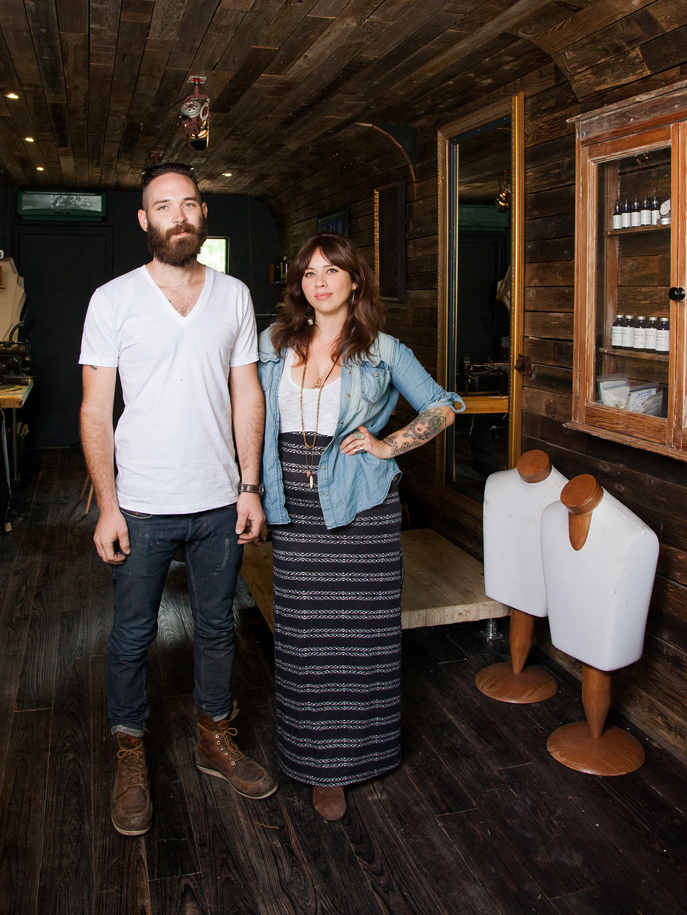 Erik and Selenia of Traveller Denim