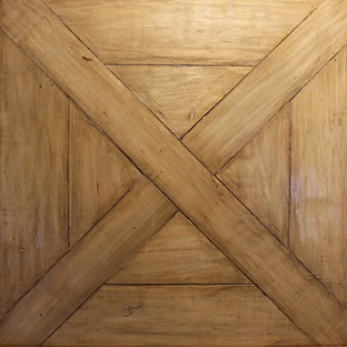 Hand-Crafted, Wax Poplar Parquet