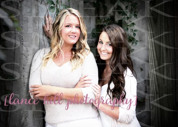 Krystin & cousin, Kaylie
