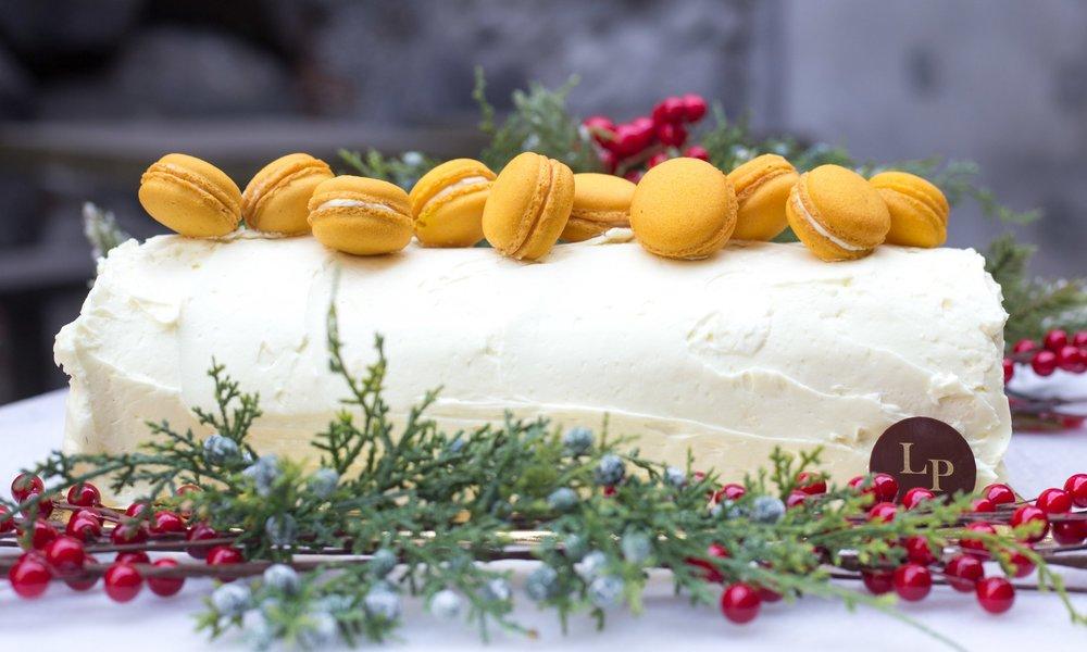 Bûche de Noël Citron