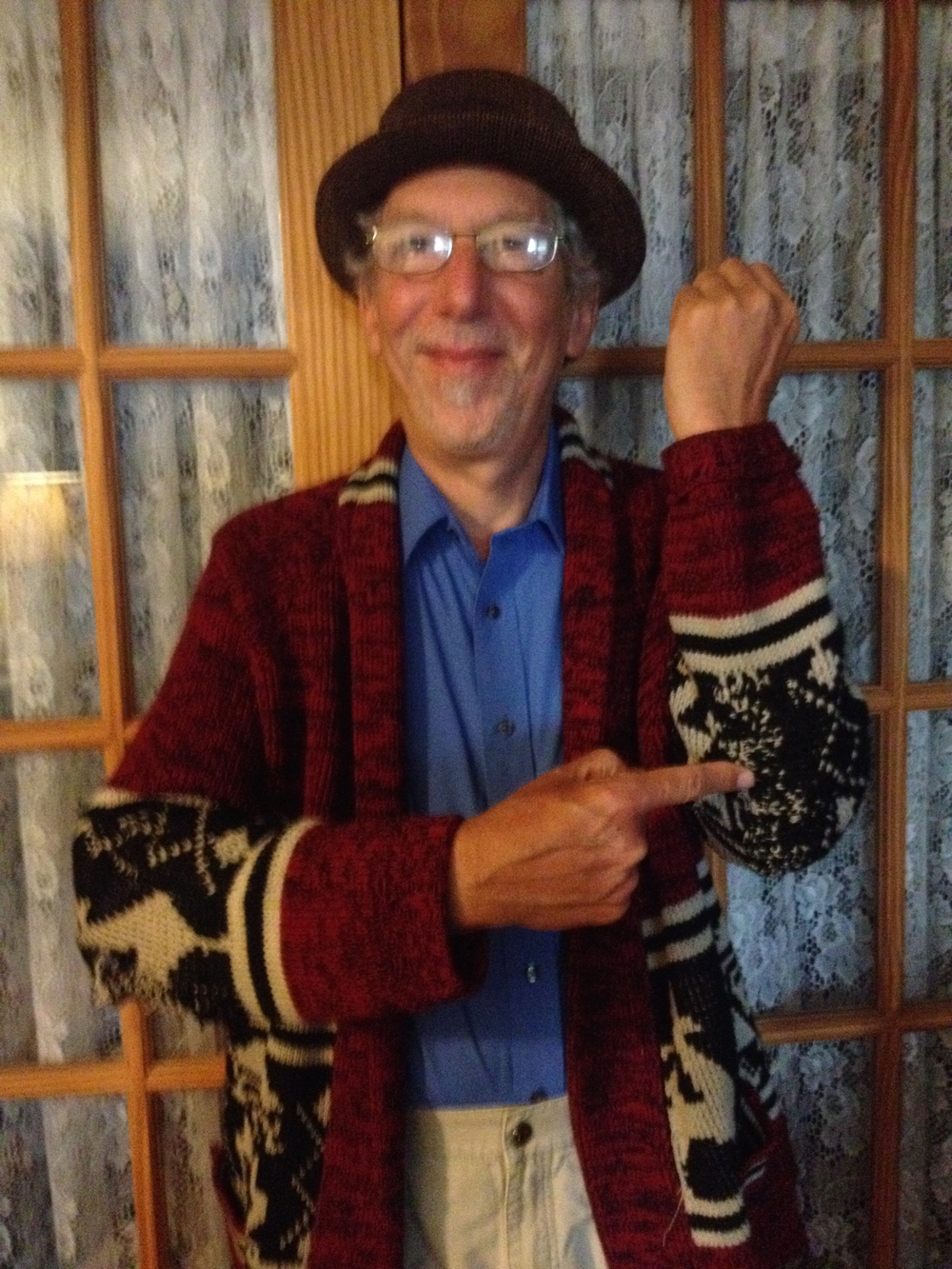Jerry and his darned sweater!