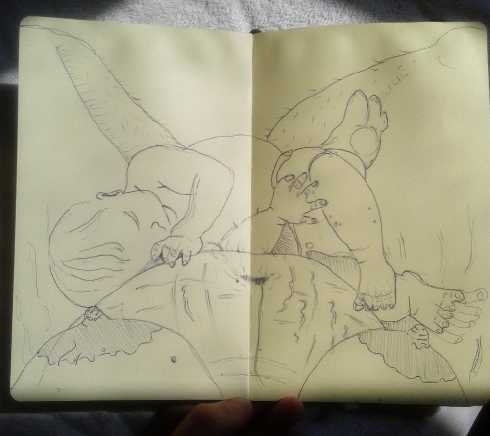 Sketchbook, 8/23/15