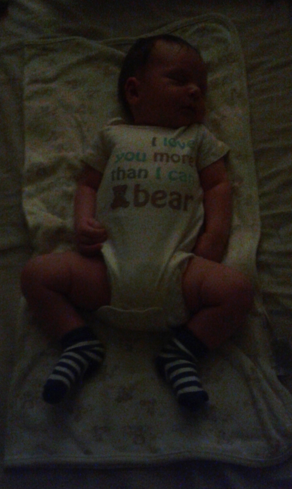 I love you more than I can bear: Baby Vee at 4 weeks 1 day, 8/31/15 at 10:34pm