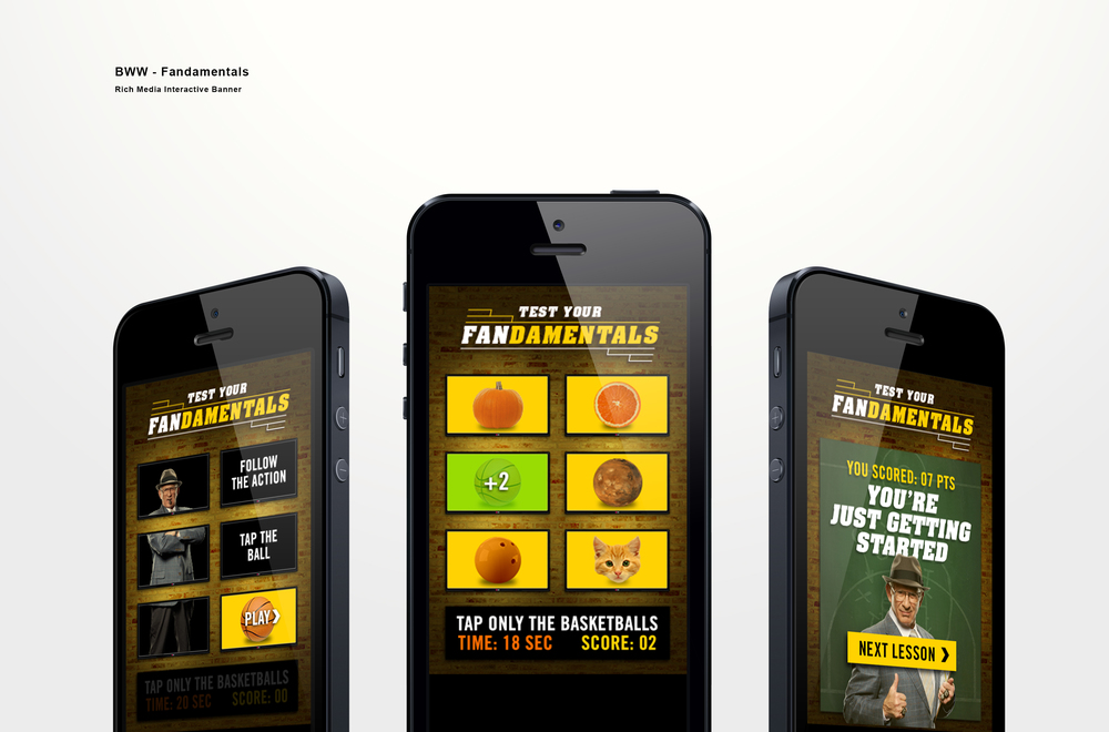 Mobile Rich Media Fandamentals Ad Game