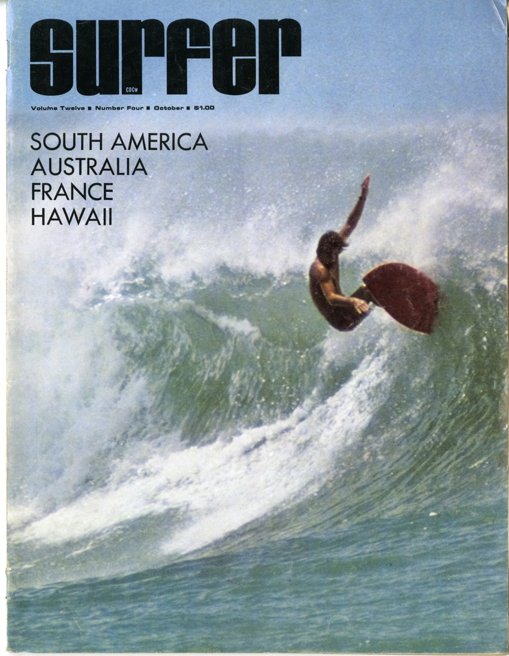 First cover shot, Ala Moana | p. John Severson | 1971