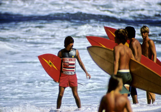 The Hang Ten Surf Contest, Sunset Beach | p.  Jeff Divine  | 1972