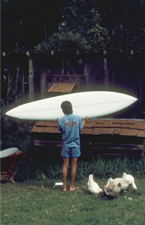 At home in Olinda, Maui | p. Dana Edmunds | 1975