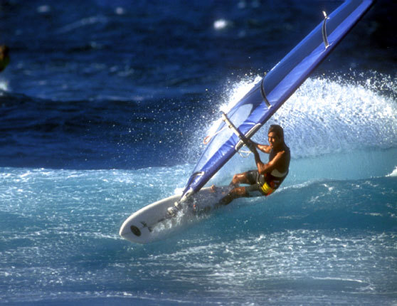 Windsurfing at Hookipa Beach, Maui | p. Gordinho | 1984