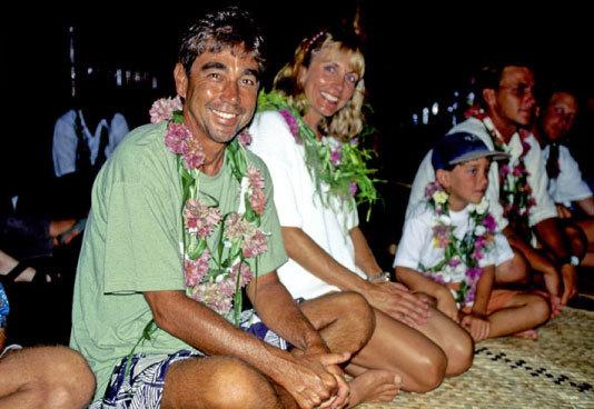 Kava Cermony, Tavarua Island, Fiji | p.  Jeff Divine  | 1995
