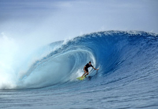 Cloudbreak, Fiji | p. Jeff Divine | 1995