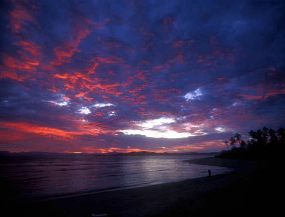 Beautiful Fijian sunset | p. Don King | 1995