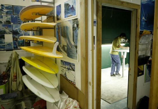 Shaping room | Bend, Oregon