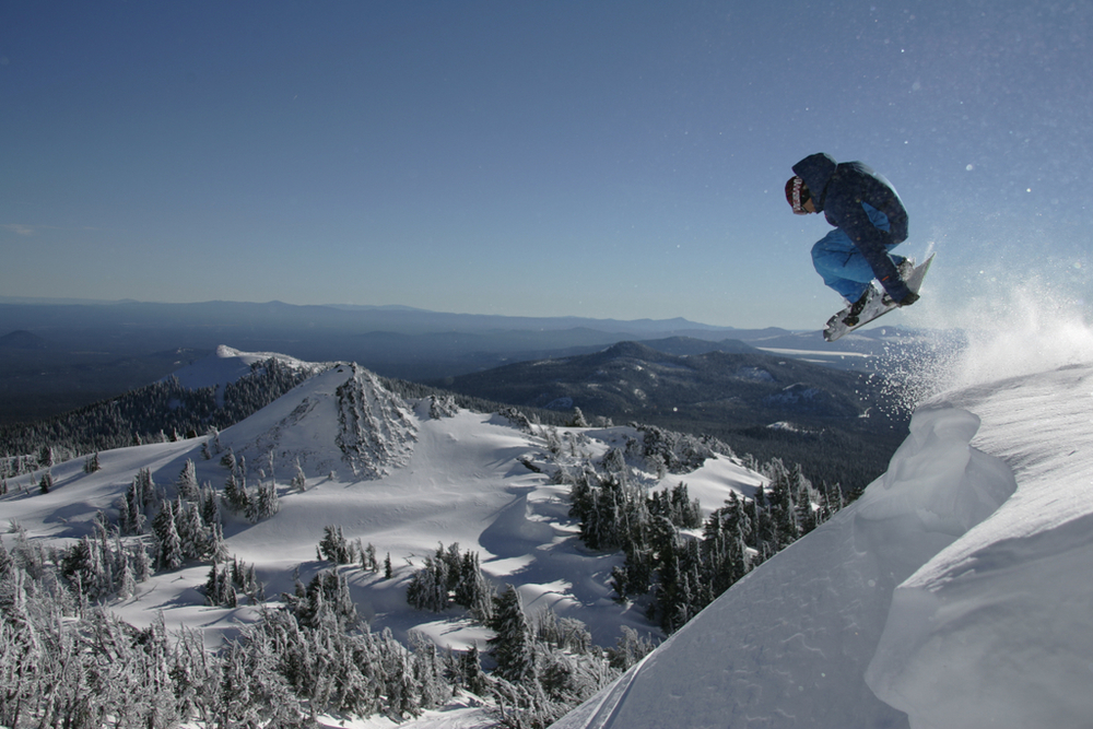 Mt. Bachelor wind lip | Kirk Devoll