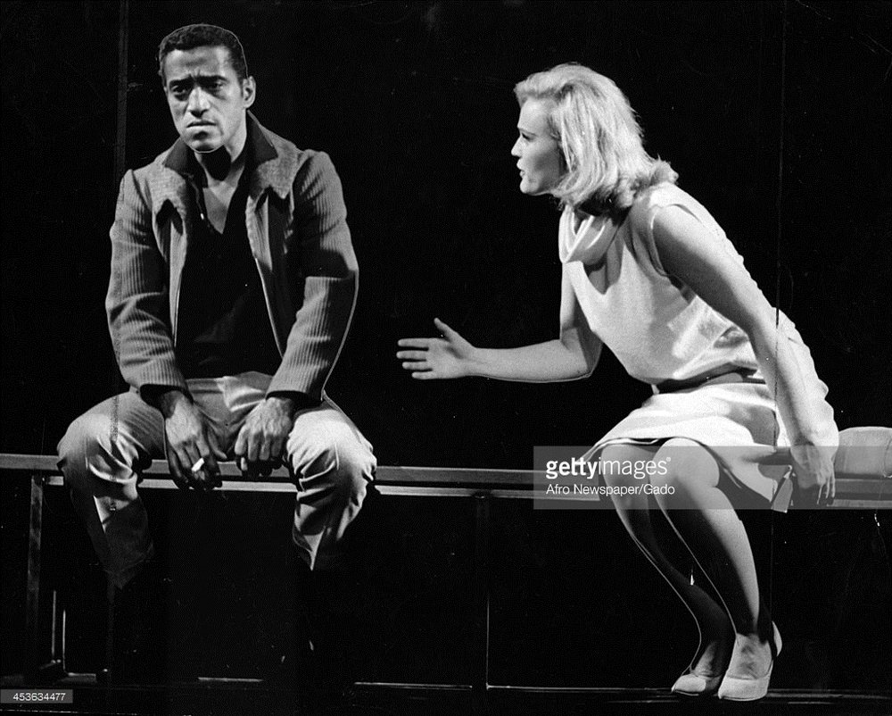 Sammy Davis Jr. with Paula Wayne in  Golden Boy (1964)
