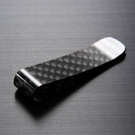 cbc4639b3de Roar Carbon Slim Carbon Fiber Money Clip — Roar Carbon