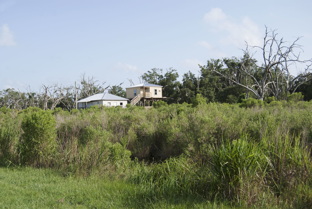 Raised home on Highway 46, Saint Bernard Parish, LA