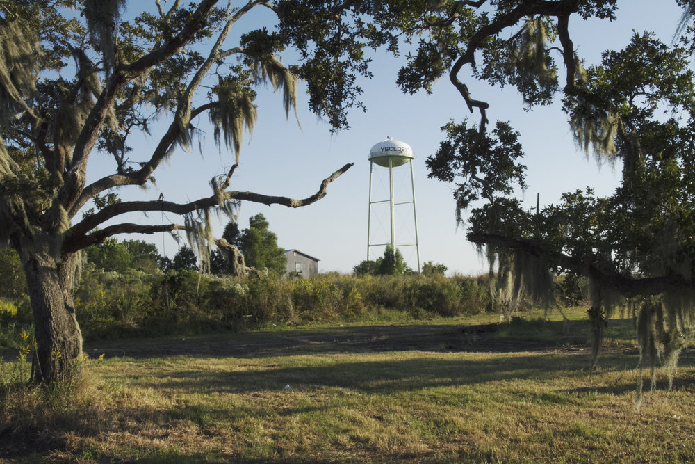 Yscloskey Water Tower, Saint Bernard Parish, LA