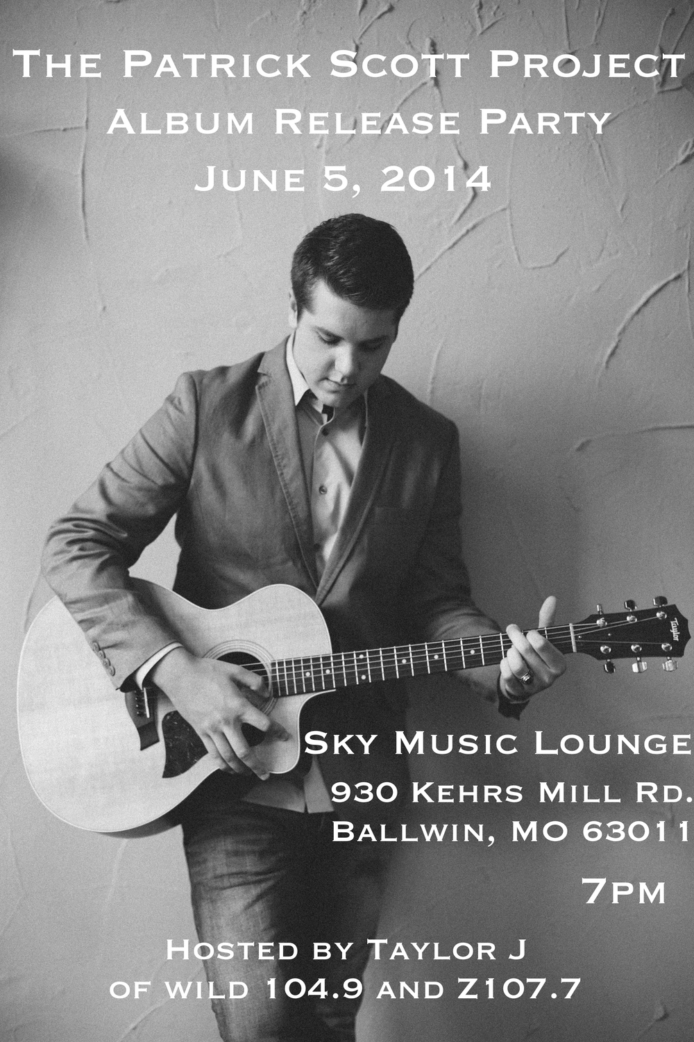 Click to see the live replay of the album release party from the  Sky Music Lounge on June 5th