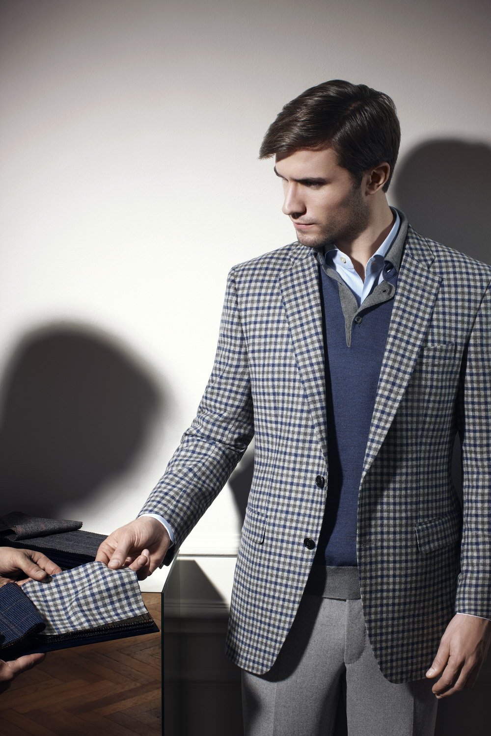 Haberdasher Custom Clothing: Bespoke Sport Coat/Blazer